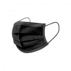 Hygienemasken Typ1 – 3 Lagig – 50 Stk – Schwarz