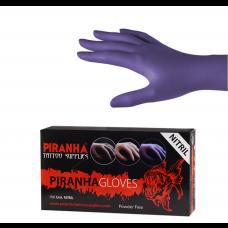 Soft Nitril Handschuhe Piranha - Violett