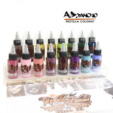 World Famous A.D. Pancho Farb-Set 15 x 30ml