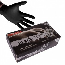 Piranha Latex Black Handschuhe