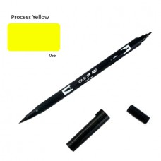 Tombow Dual Brush Pen - Process Yellow